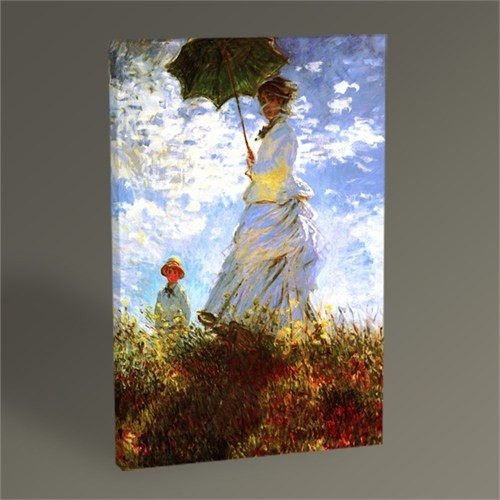Tablo 360 Claude Monet Madame Monet Ve Oğlu Tablo 75X50