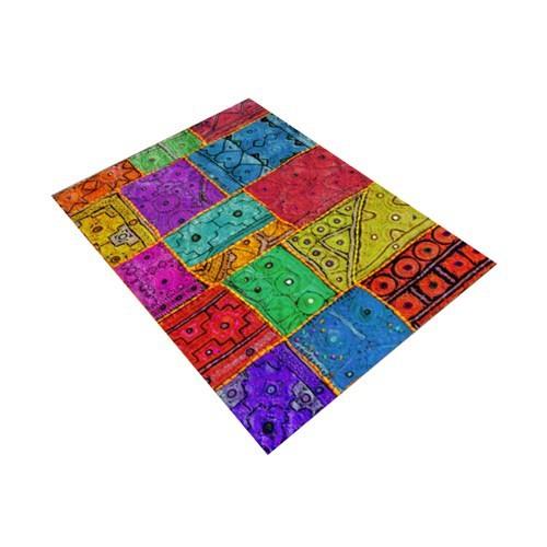 Jungle İndia Carpet Dekoratif Modernhalı 100X140 Cm