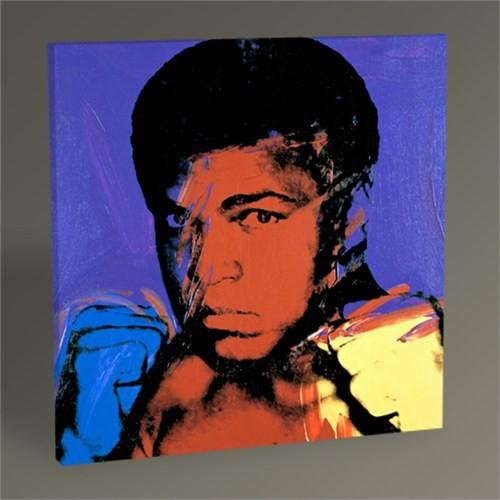 Tablo 360 Andy Warhol Muhammed Ali 30X30