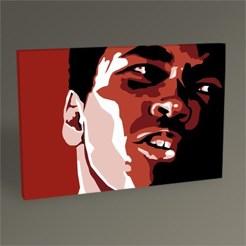 Tablo 360 Muhammed Ali Pop Art Tablo 45X30