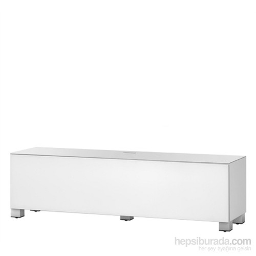 Sonorous St 160F-Wht Beyaz Kaplama ,Dolaplı Tv Sehpası