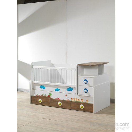 Risa Kurdela Bebek Odası Büyüyen Beşik