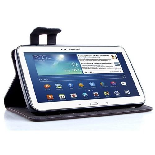"""Addison SMG-TAB3-04 7"""" Samsung Galaxy Tab3 Tablet Koyu Gri Kılıfı"""