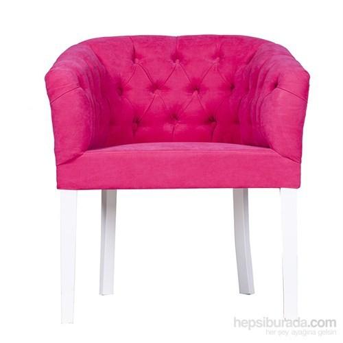 3A Mobilya Full Capitone Pink Berjer - Fuşya