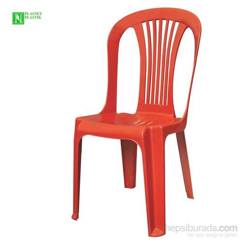 Bunjee Reina Plastik Sandalye Kırmızı