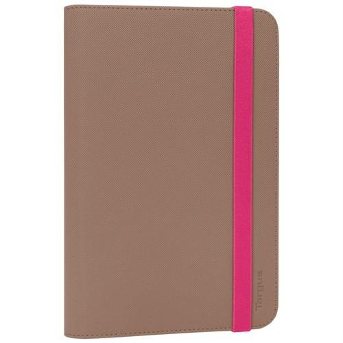 """Targus THZ33303EU 7-8"""" Tablet Folio Kahverengi Universal Tablet Kılıfı"""