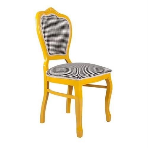 3A Mobilya Yellow Queen Sandalye - Sarı