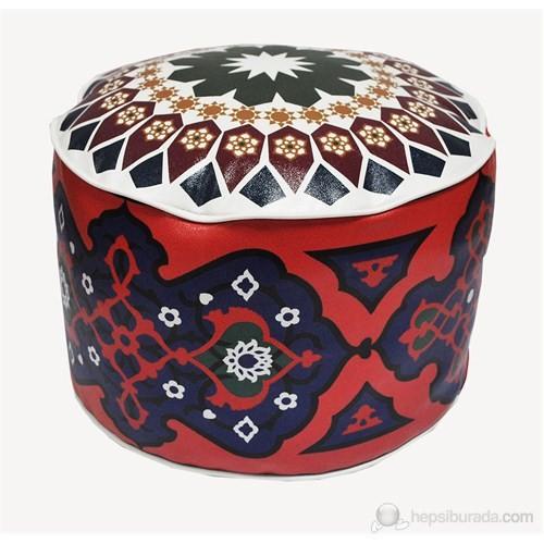 Kırmızı Ottoman - MOR08