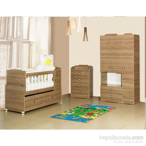 Banana Baby&Kids Swing Rüya 3 Kapılı Bebek Odası