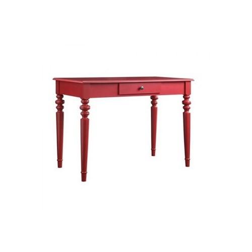 Woodenbend Anatole Çalışma Masası Kırmızı (70X110)