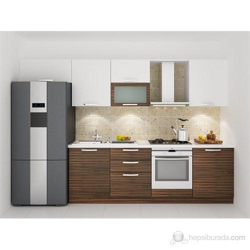 Kenyap 129002 Highgloss PVC Kapaklı Mutfak 320 cm