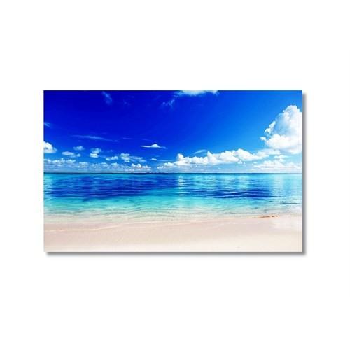 Tictac Issız Sahil 3 Kanvas Tablo - 40X60 Cm