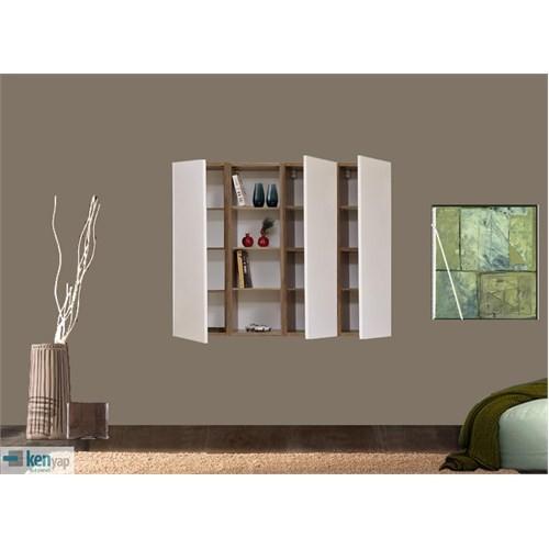 Kenyap 800277 Decoflex Duvar Ünitesi-Samba&Beyaz