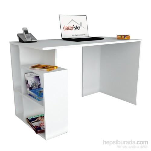 Dekorister Labran Çalışma Masası Beyaz