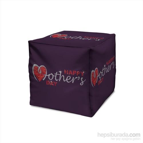 Dekorjinal Anneler Günü Puf Mday018