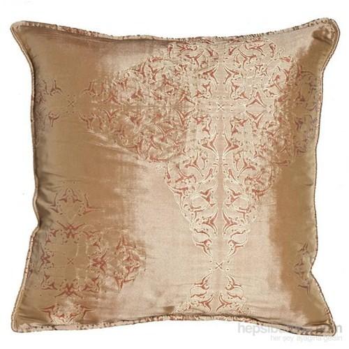 Yastıkminder Tafta Pudrarenk Mekik Dekoratif Yastık