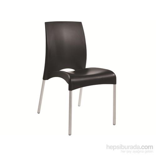 Papatya Vital-S Sandalye Siyah