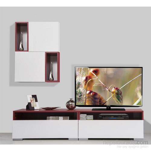 Kenyap Plus 813857 Diamond Tv Ünitesi Bordo