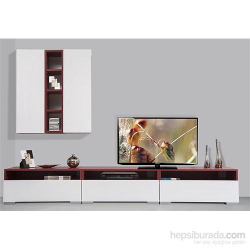 Kenyap Plus 814113 Diamond Tv Ünitesi Bordo