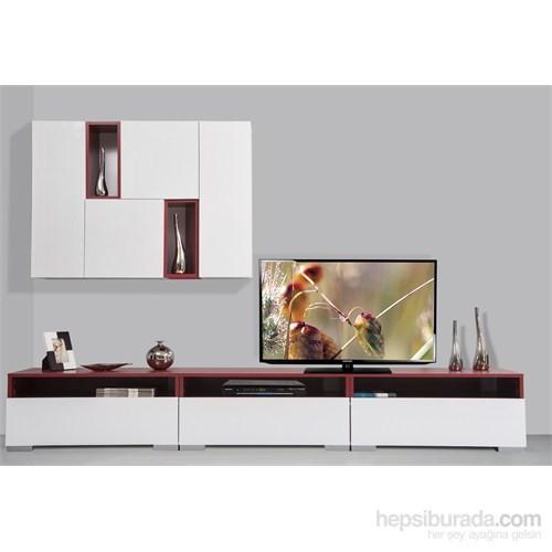 Kenyap Plus 813826 Diamond Tv Ünitesi Bordo
