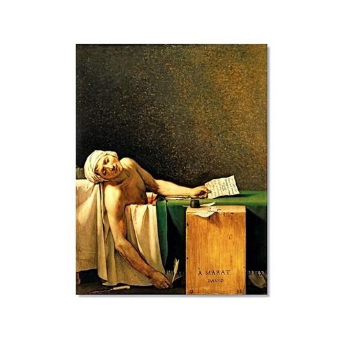 Tictac Marat Kanvas Tablo - 50X75 Cm