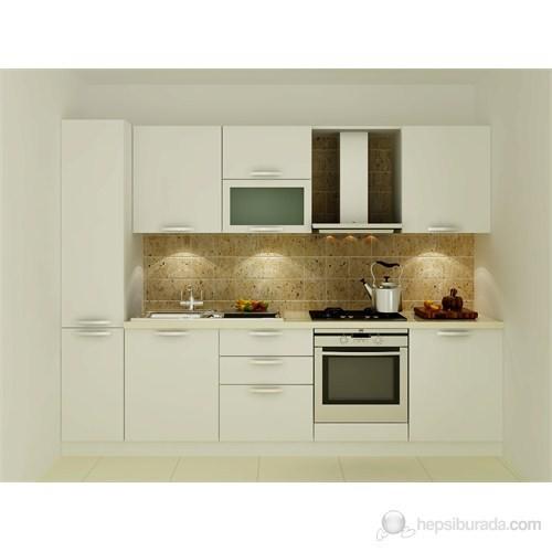 Kenyap 125004 Highgloss PVC Kapaklı Mutfak 280 cm