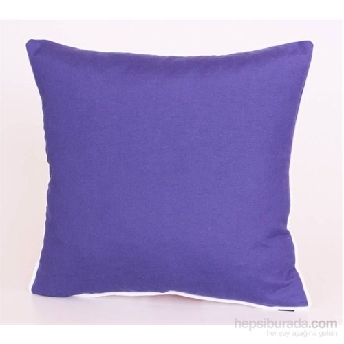 Yastıkminder Koton Lacivert Beyaz Fitilli Yastık