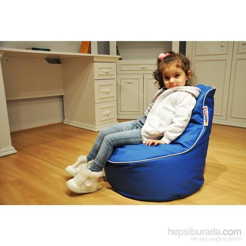 Pufumo Twingo Çocuk Armut Koltuk ( Mavi )