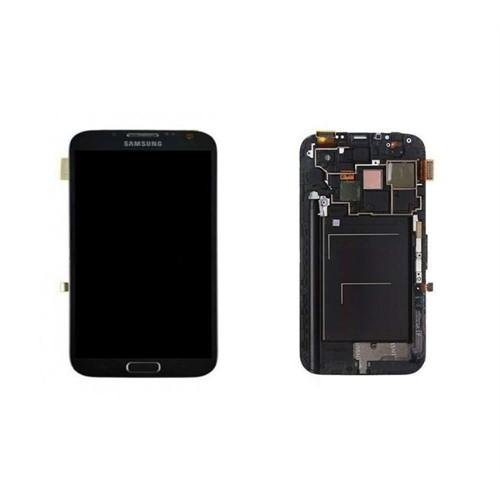 Galaxy Note 2 Dokunmatik Lcd Ekran Siyah