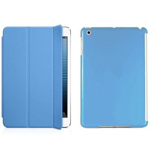 Microsonic İpad Mini 3 Smart Case + Arka Koruma 2İn1 Kılıf Mavi