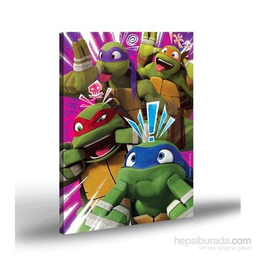Artikel Kanvas Tablo Lisanslı Ninja Turtles-2 50x70 cm