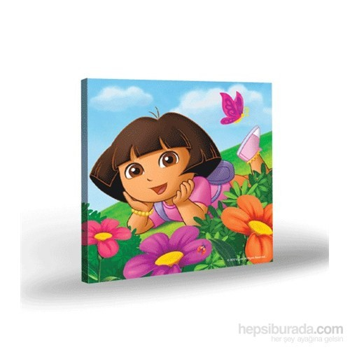 Artikel Kanvas Tablo Lisanslı Dora-3 40x40 cm