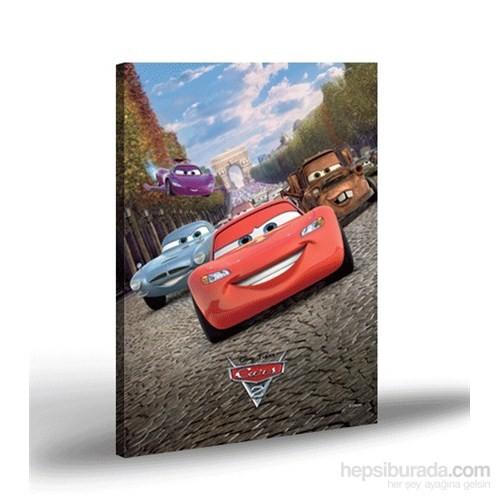 Artikel Kanvas Tablo Lisanslı Cars-1 50x70 cm