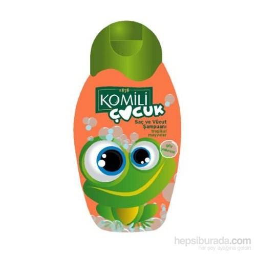 Komili Çocuk Şampuan Tropik Meyveler300 Ml