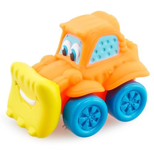 Clementoni Yumuşak Oyuncak Araba Turuncu 10Cm