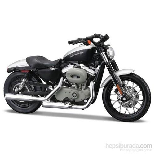 Maisto Harley Davidson 2008 Xl 1200N Sportster 1200 Nightster 1:18 Motorsiklet