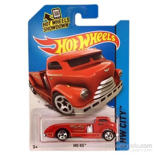 Hot Wheels Tekli Araçlar Mig Rig