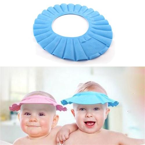 Miny Baby Bebek - Çocuk Duş Başlığı Mavi