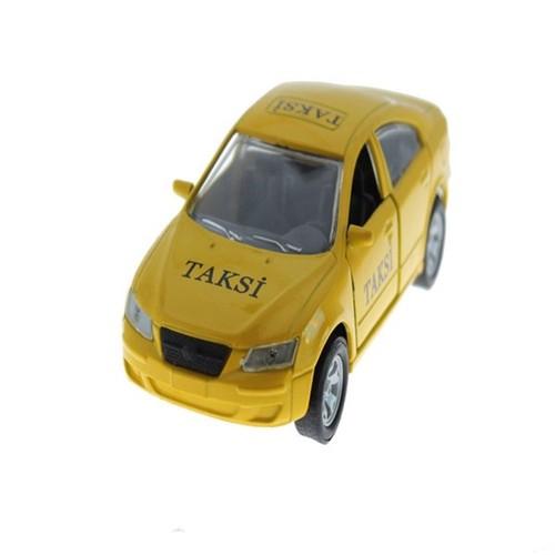 Can-Em Oyuncak Çek Bırak Metal Taksi
