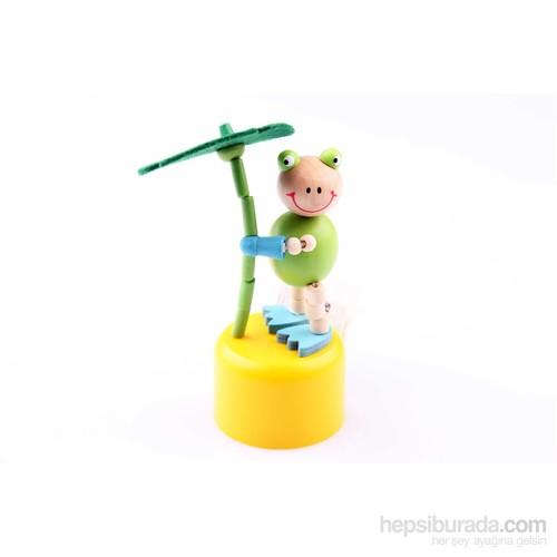 Wooden Toys Ahşap İpli Oynar Hayvan Kukla