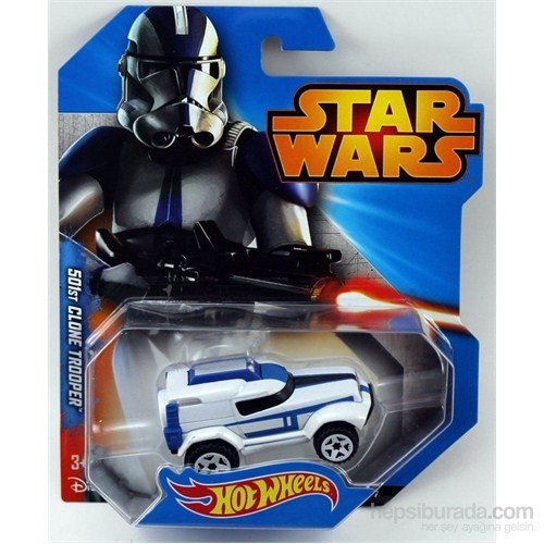 Hot Wheels Karakter Arabalar Star Wars Özel Serisi - 501St Clone Trooper