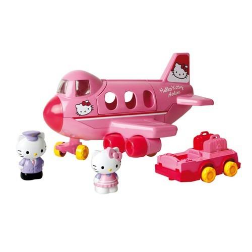 Nani Toys Hello Kitty Jumbo Jet 2 Figürlü Oyun Seti