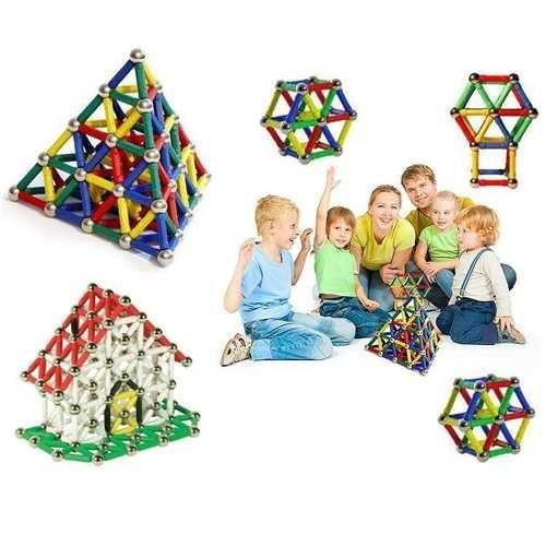 Uygun 37 Parça Manyetik Lego Seti