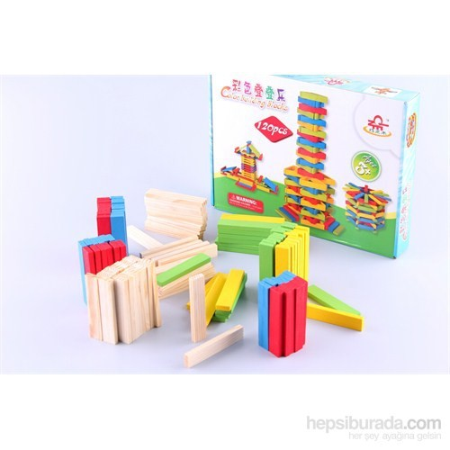 Wooden Toys Colour Building Blocks