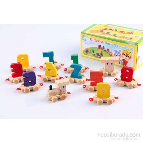 Wooden Toys Digital Small Train