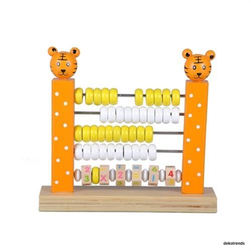 Wooden Toys Hayvan Figürlü Ahşap Abaküs