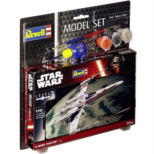 Revell Model Set Sw X-Wing Fighter 63601