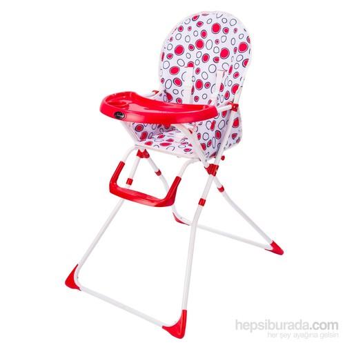 Johnson Pratik Mama Sandalyesi - Kırmızı