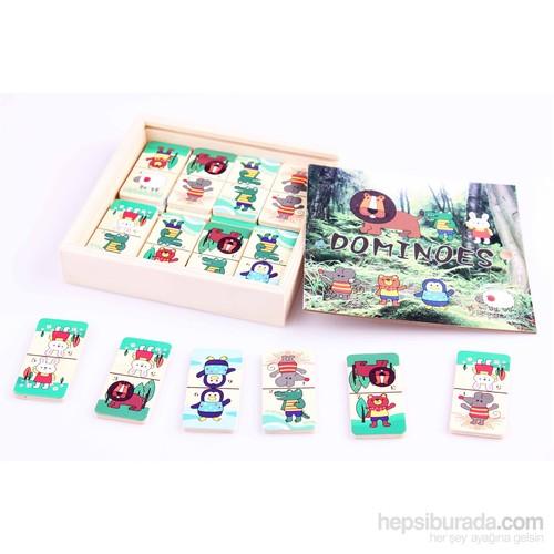 Wooden Toys Ahşap Domino Seti