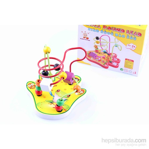 Wooden Toys Small Round Rear